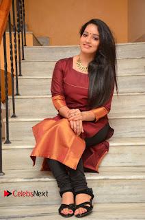 Actress Malavika Menon Pictures in Salwar Kameez at Love K Run Platinum Disc Function  0101