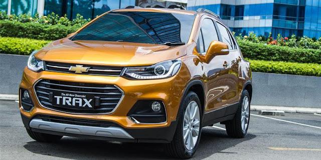 Chevrolet Trax Facelift 2017 Mobil Dengan Sejuta Fitur