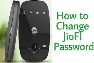 How To Change JioFi Password And Username