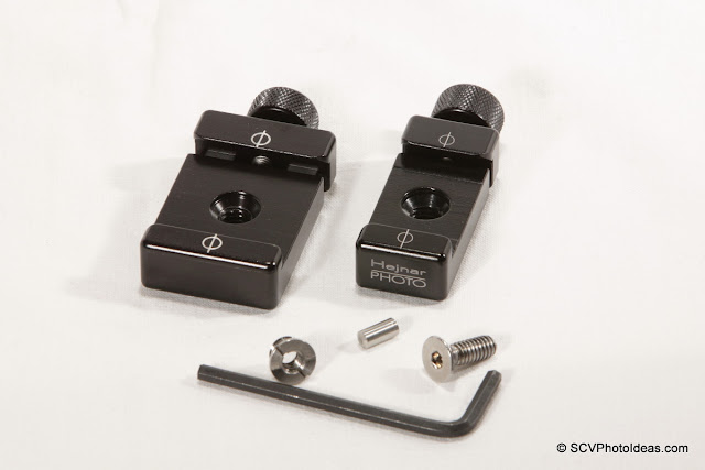 Hejnar PHOTO F60 + F61 QR clamps + accessories