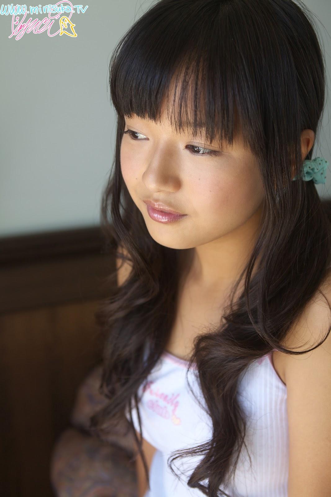Mayumi Yamanaka Japanese Cute Idol Sexy White Sleeping -6143