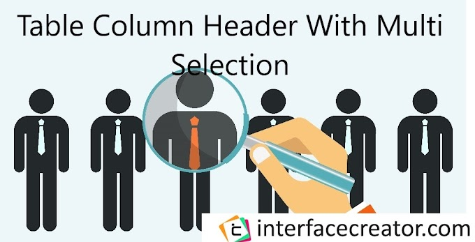 Material Angular Table Column Header With Multi Selection,Material Angular Table Column Selection,Mat-Table