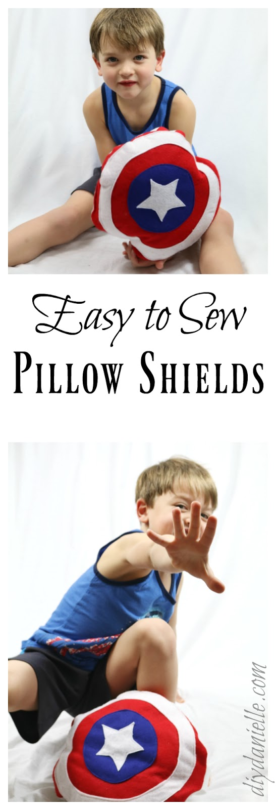 DIY Pillow Shields