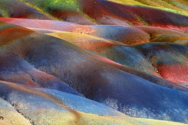 Seven Coloured Earths of Chamarel