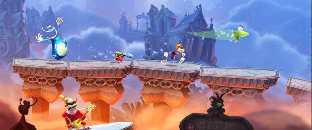 Rayman Legends Gameplay Footage