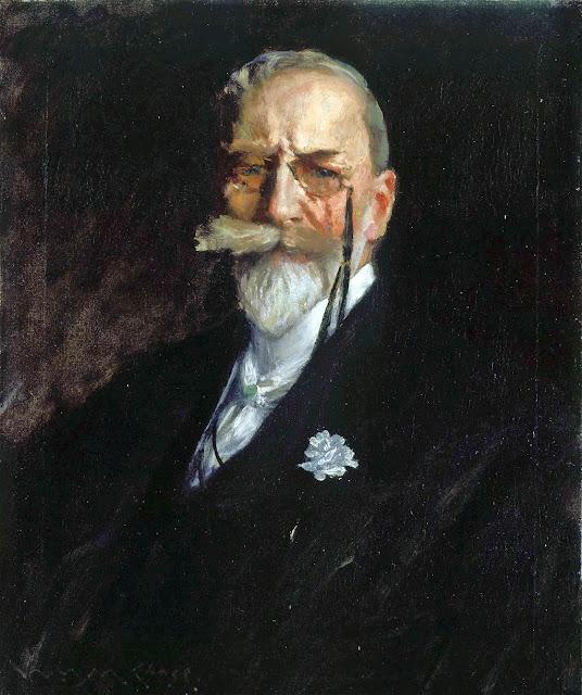 William Merritt Chase, Self Portrait, Portraits of Painters, Fine arts, Merritt Chase