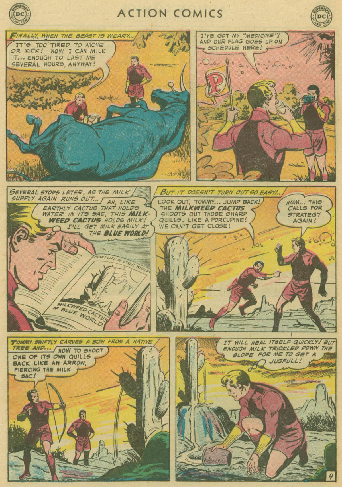 Read online Action Comics (1938) comic -  Issue #229 - 29