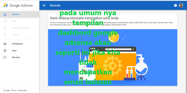 cara mengatasi agar mendapat email balasan dari google adsense