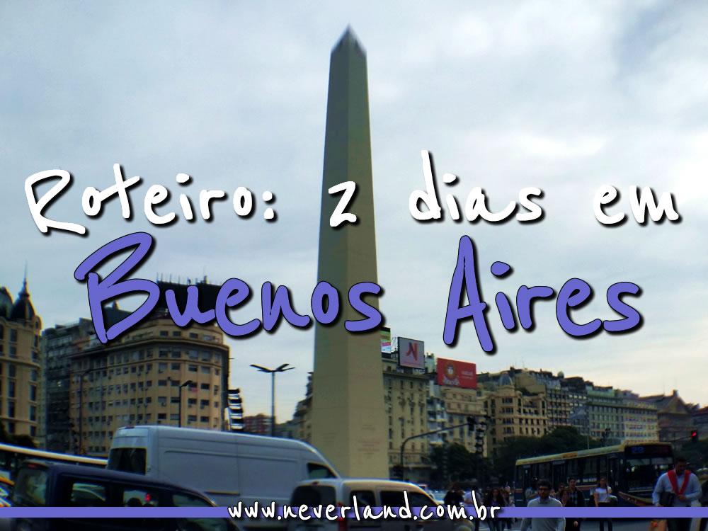 Roteiro 2 Dias Buenos Aires