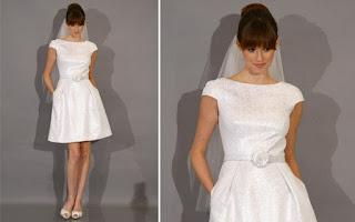 vestido de noiva simples e chique - fotos e dicas
