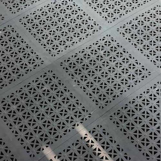 Greatmats Staylock Perforated Tile RV camper patio