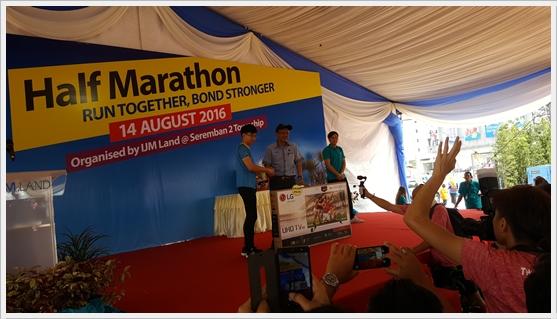 Pemenang Utama Cabutan Bertuah IJM Land Half Marathon 2016