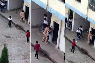 Teacher Strips Naked And Rapes A Female Student Publicly