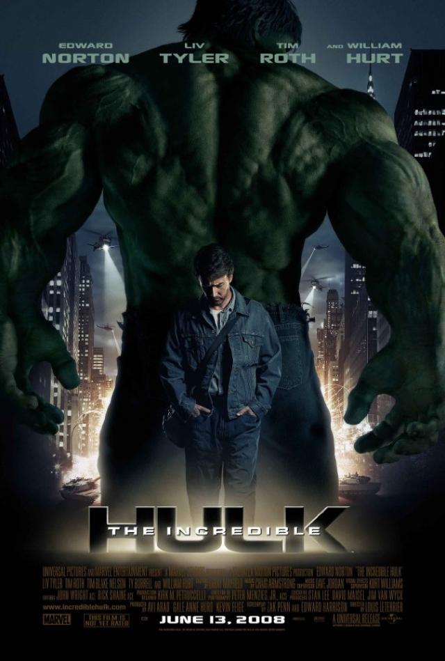 Người khổng lồ xanh phi thường - The Incredible Hulk (2008)