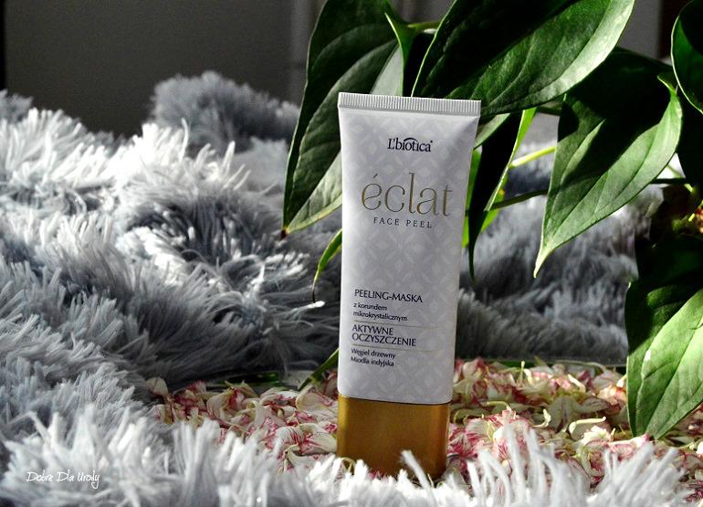 L'biotica ÉCLAT Face Peel Peeling - Maska recenzja