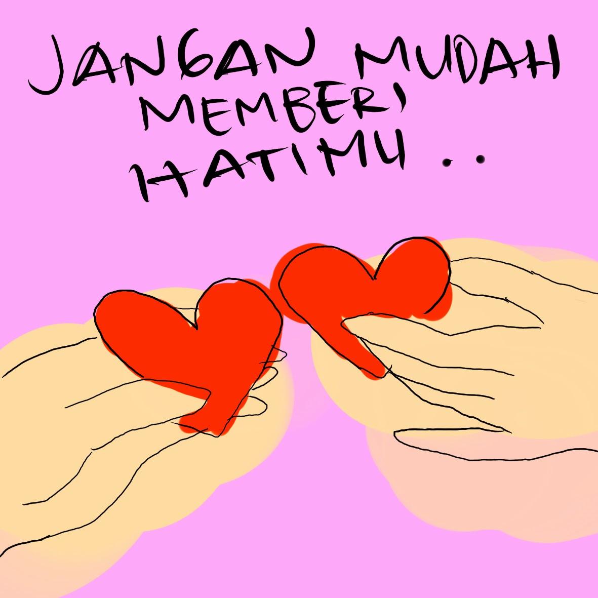 cinta, berbagi hati , memberi hati, tangan