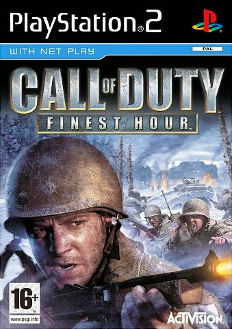 CALL OF DUTY: FINEST HOUR PS2