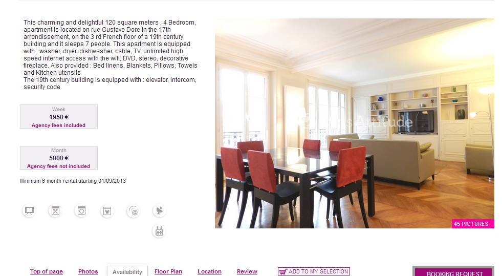 Craigslist Paris Apartments