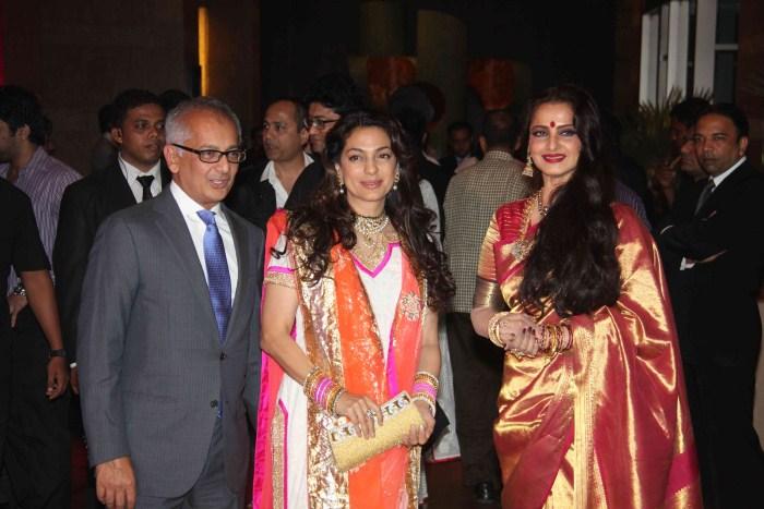 Wedding Pictures Wedding Photos: Actress Juhi Chawla