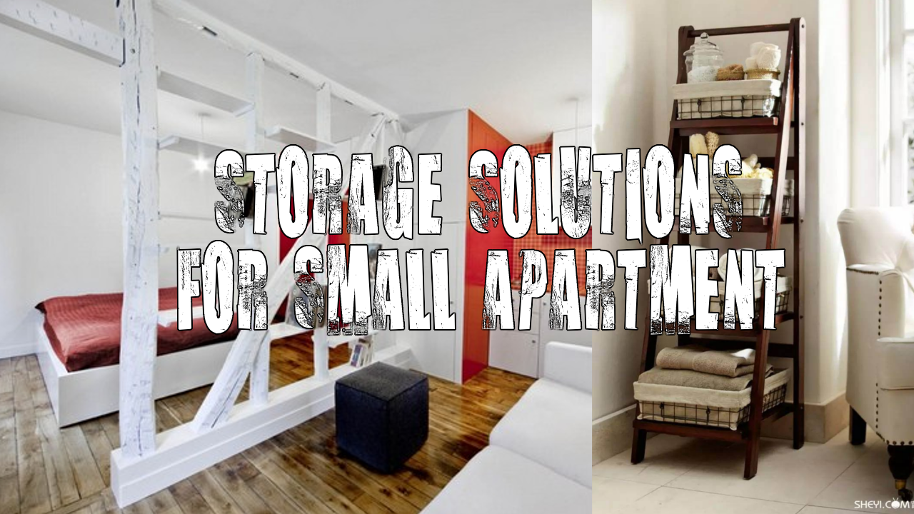 Storage Solutions for Small Apartment