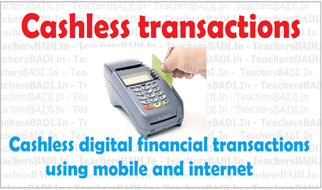 cashless transactions, mobile, internet