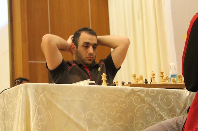 GM Grigoryan Karen leads after 5 rounds