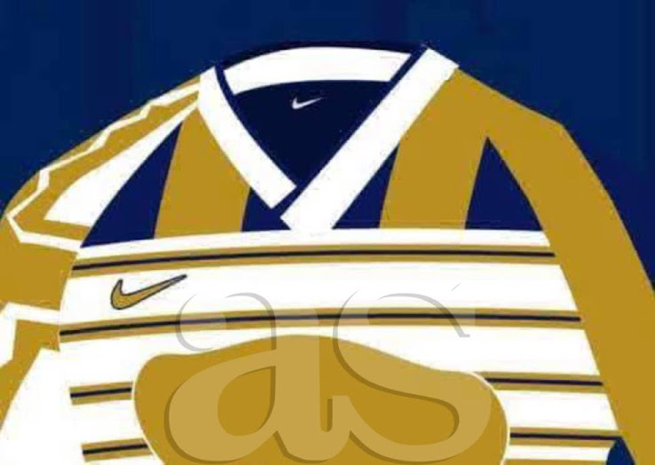 sports shoes d6edb 8be91 Made By A Fan | Actual Nike Pumas UNAM 2019 Mash-Up Kit Not ...