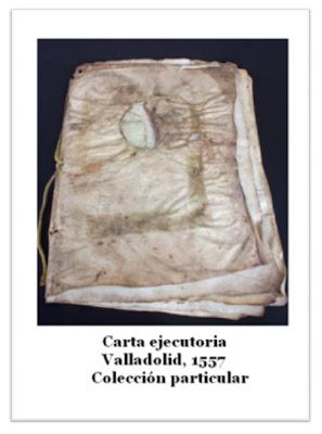 carta ejecutoria Valladolid