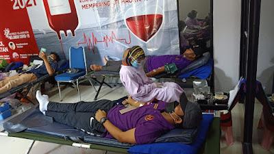 Hari Olahraga Nasional 2021, Koni Kabupaten Tangerang Gelar Donor Darah