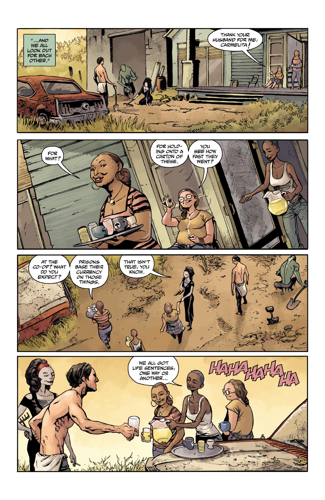 Read online Abe Sapien comic -  Issue #18 - 16