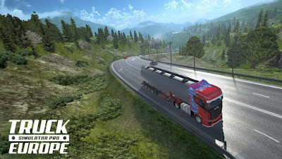 Truck Simulator PRO Europe Mod Apk + OBB Downlaod (Paid)