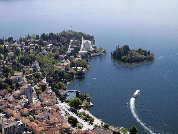 Le case pi belle del lago maggiore for Lago villa del conte