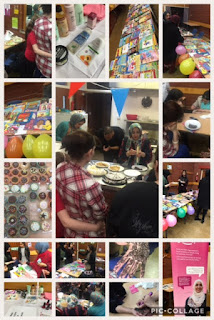 Collage of pictures from our Women's Day event [3]