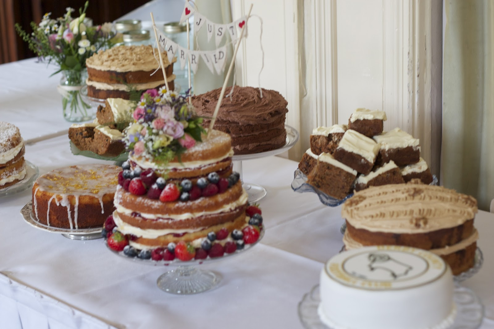 Vintage And Cake: Afternoon Tea Wedding Cake Table.. Cake