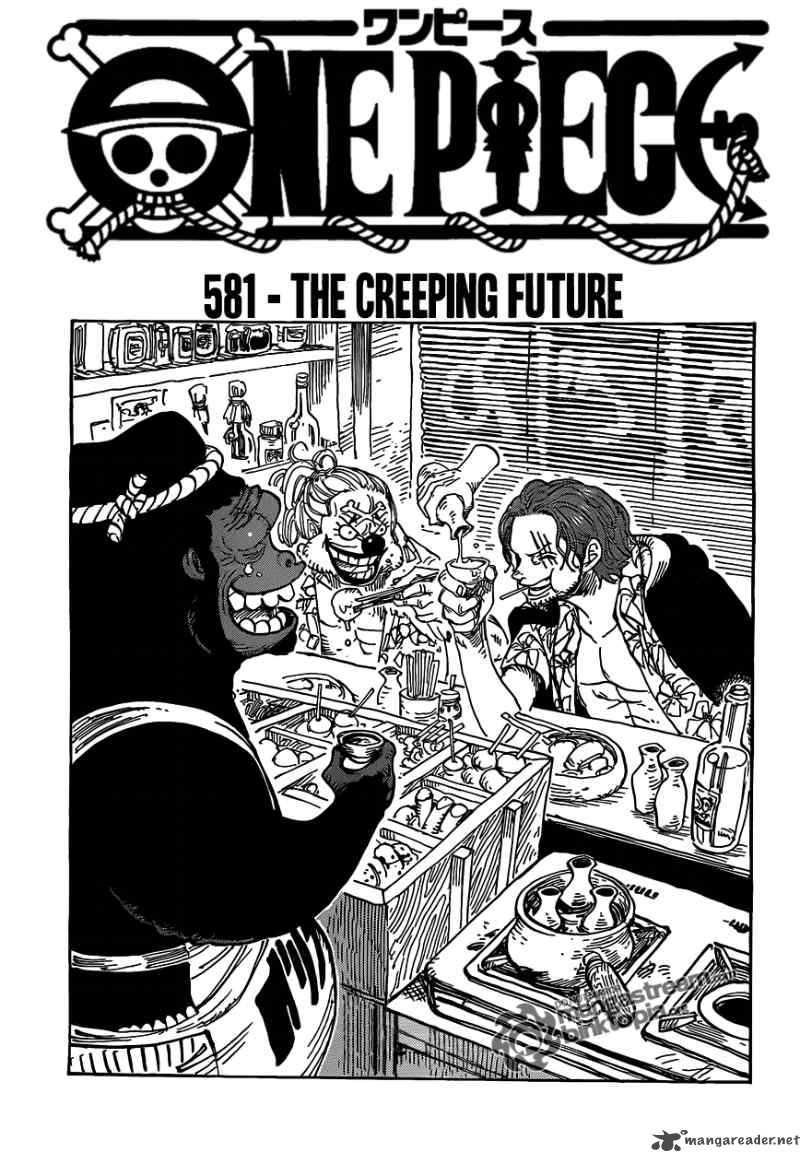 One Piece 581