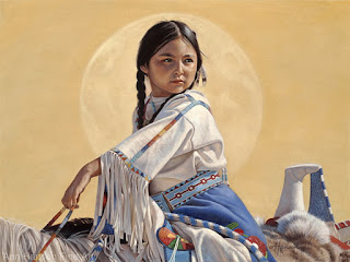cuadros-niñas-indígenas-en-pinturas retratos-niñas-pinturas-oleo