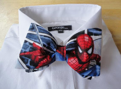 Spiderman Bowtie