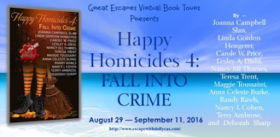 Review, Fall Into Crime, Happy Homicides 4, Hengerer, Touissaint, Bea's Book Nook