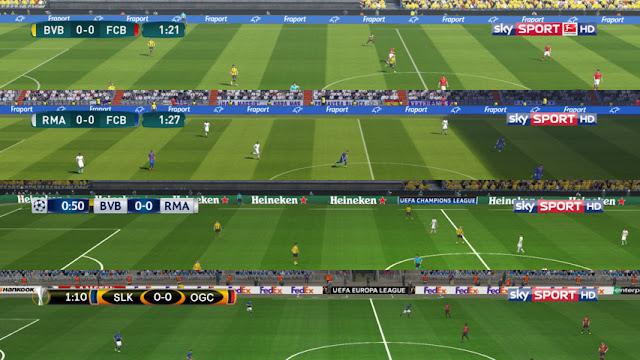 sky SPORT HD TV Logos - PES 2017