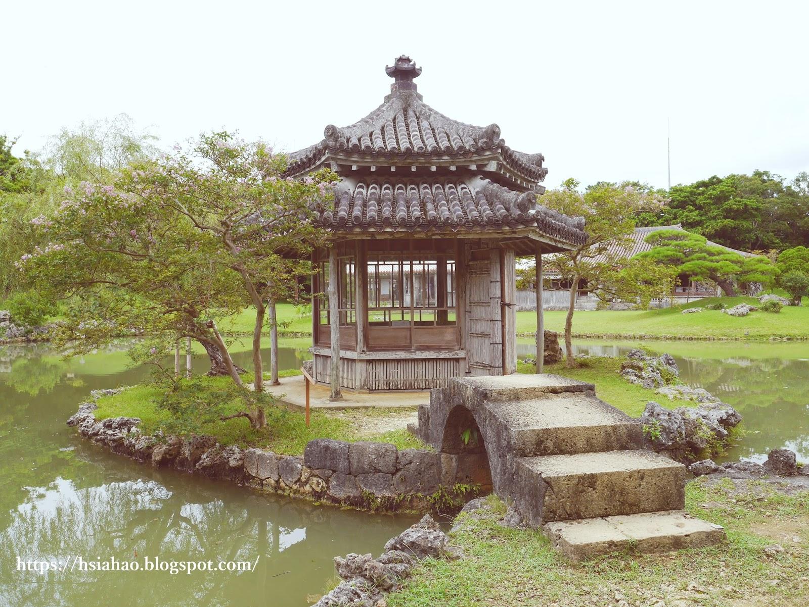 沖繩-那霸-景點-識名園-六角堂-自由行-旅遊-Okinawa-Naha-shikinaen