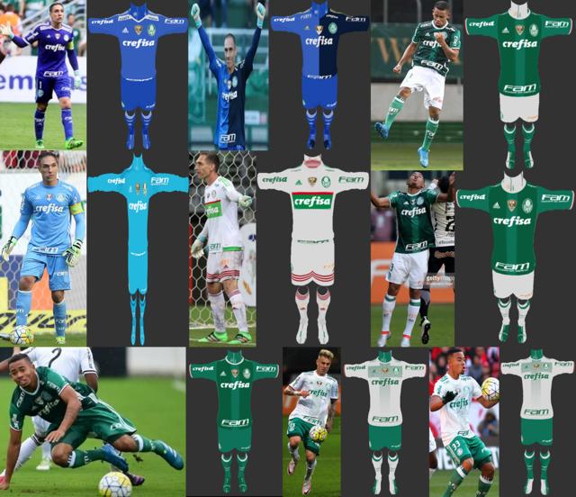 PES 2013 Palmeiras Kit Season 2016/2017