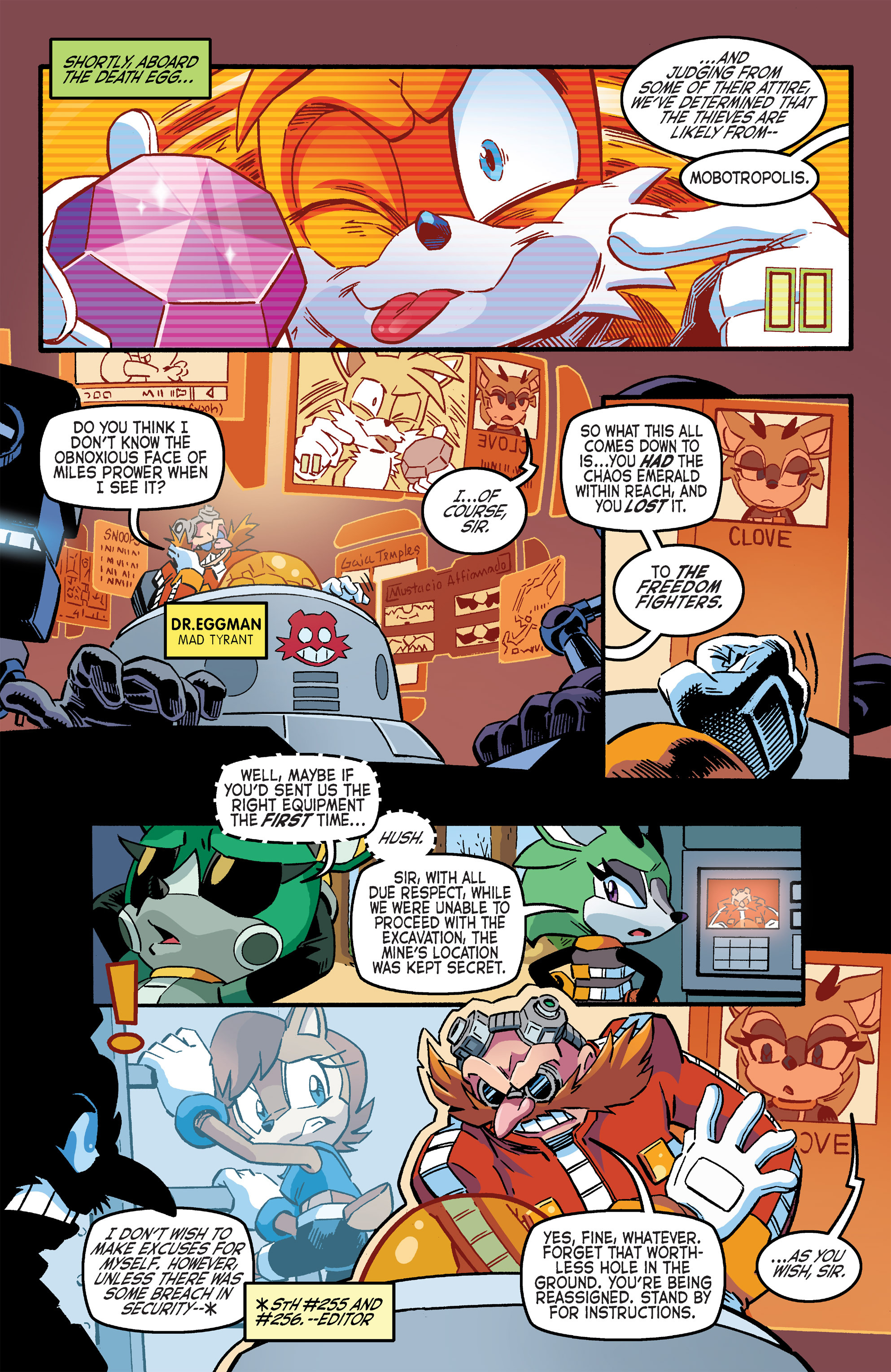 Read online Sonic The Hedgehog comic -  Issue #263 - 20