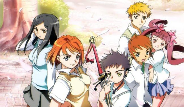Top Best Romance Magic School Anime List - Mai-HiME