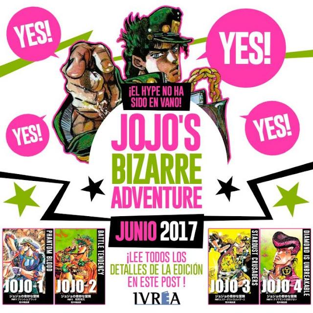 Manga de JoJo's Bizarre Adventure llega a España