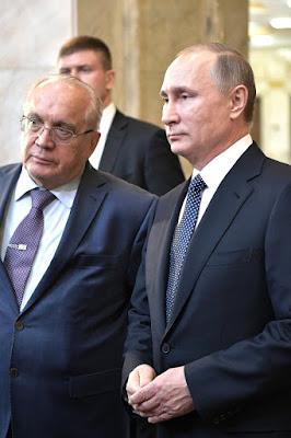 Vladimir Putin, Viktor Sadovnichy.