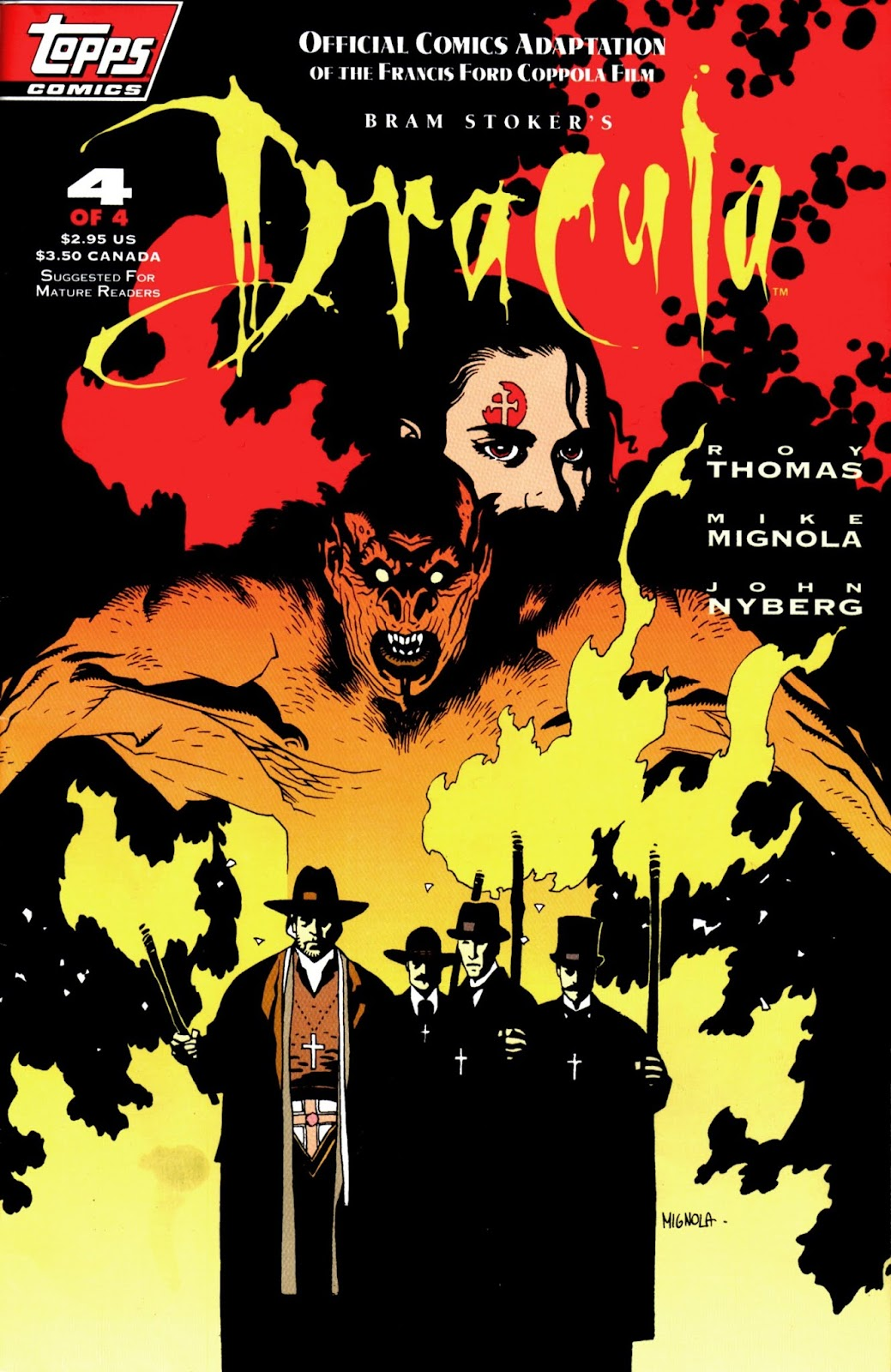 Read online Bram Stoker's Dracula comic -  Issue #4 - 1