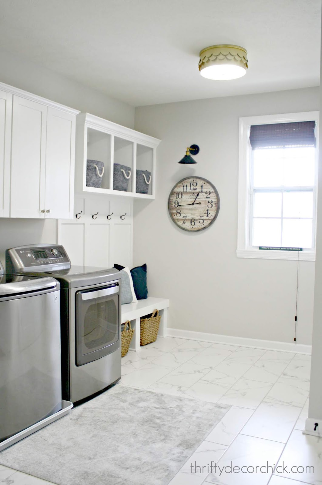 mud room laundry combo built ins