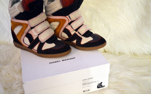 CHANEL AFTER COCO: SHOERGASM: ISABEL MARANT SNEAKERS
