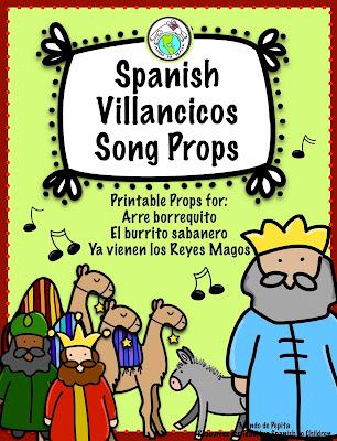 Villancicos Song Props