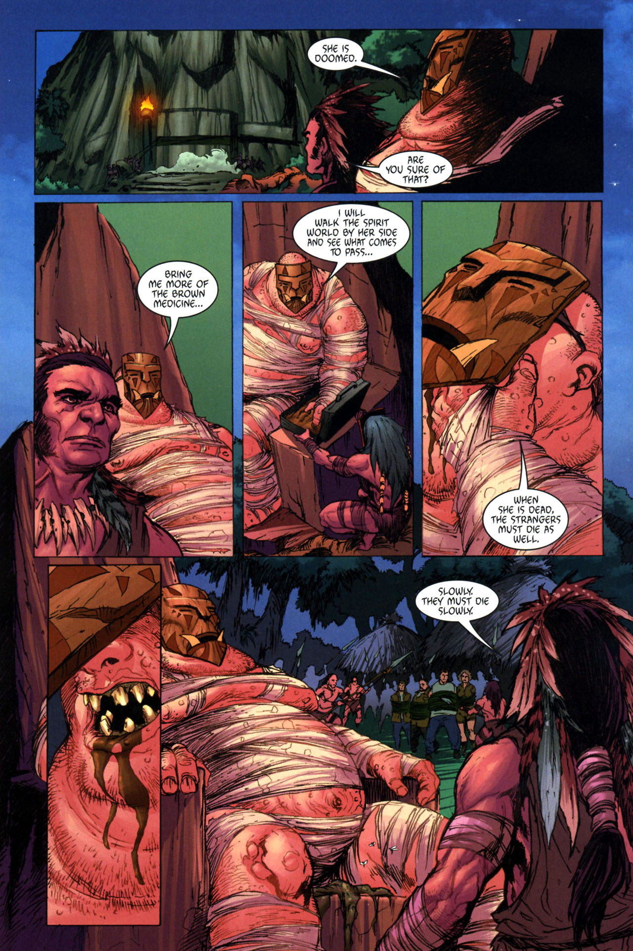 Read online Jungle Girl comic -  Issue #3 - 23